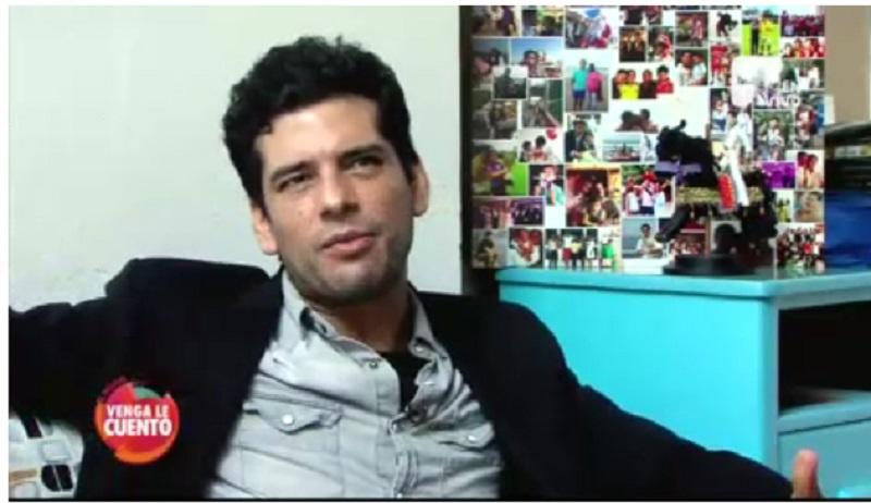 El actor Rashed Estefenn cuenta cómo desde el arte trabaja en la superación de la muerte de su hermano
