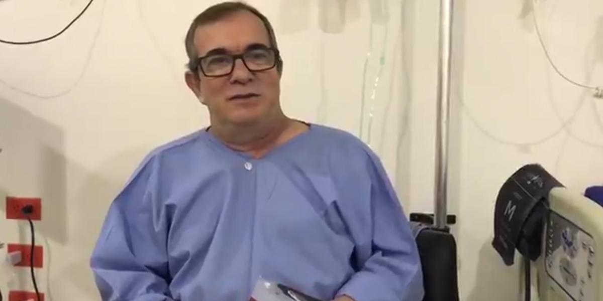 Con éxito termina la operación a Rodrigo Londoño
