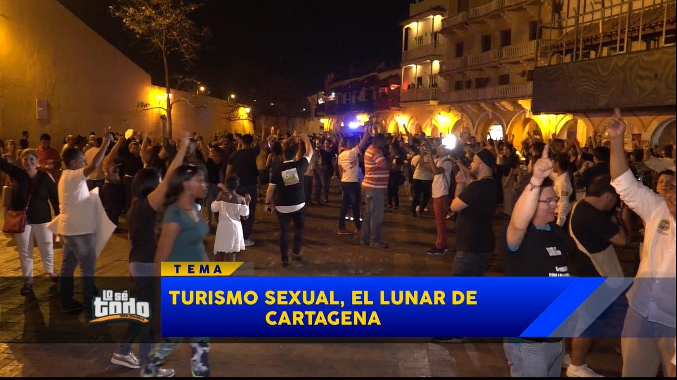 Así se maneja el turismo sexual en Cartagena