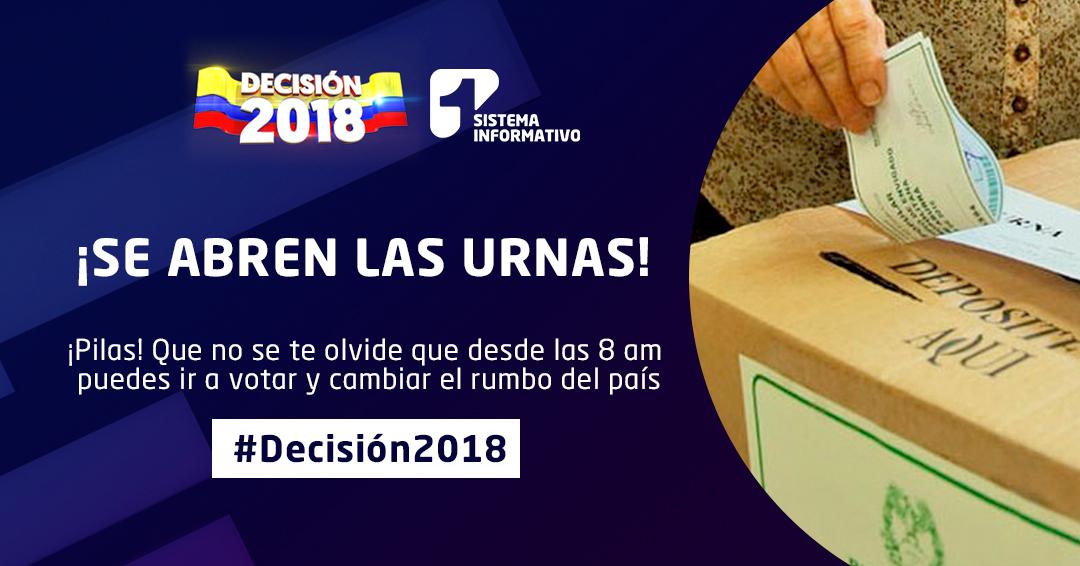 Balance 001: #Decisión2018 – Elecciones Congreso de la República