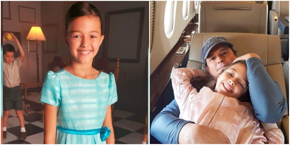 Elena, hija de Carlos Vives, sorprende al cantar 'La Tierra del Olvido'