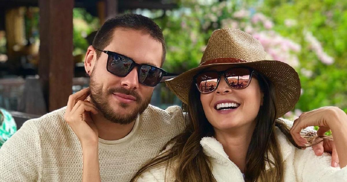 Carmen Villalobos y Sebastián Caicedo, listos para recibir un nuevo 'hijo'