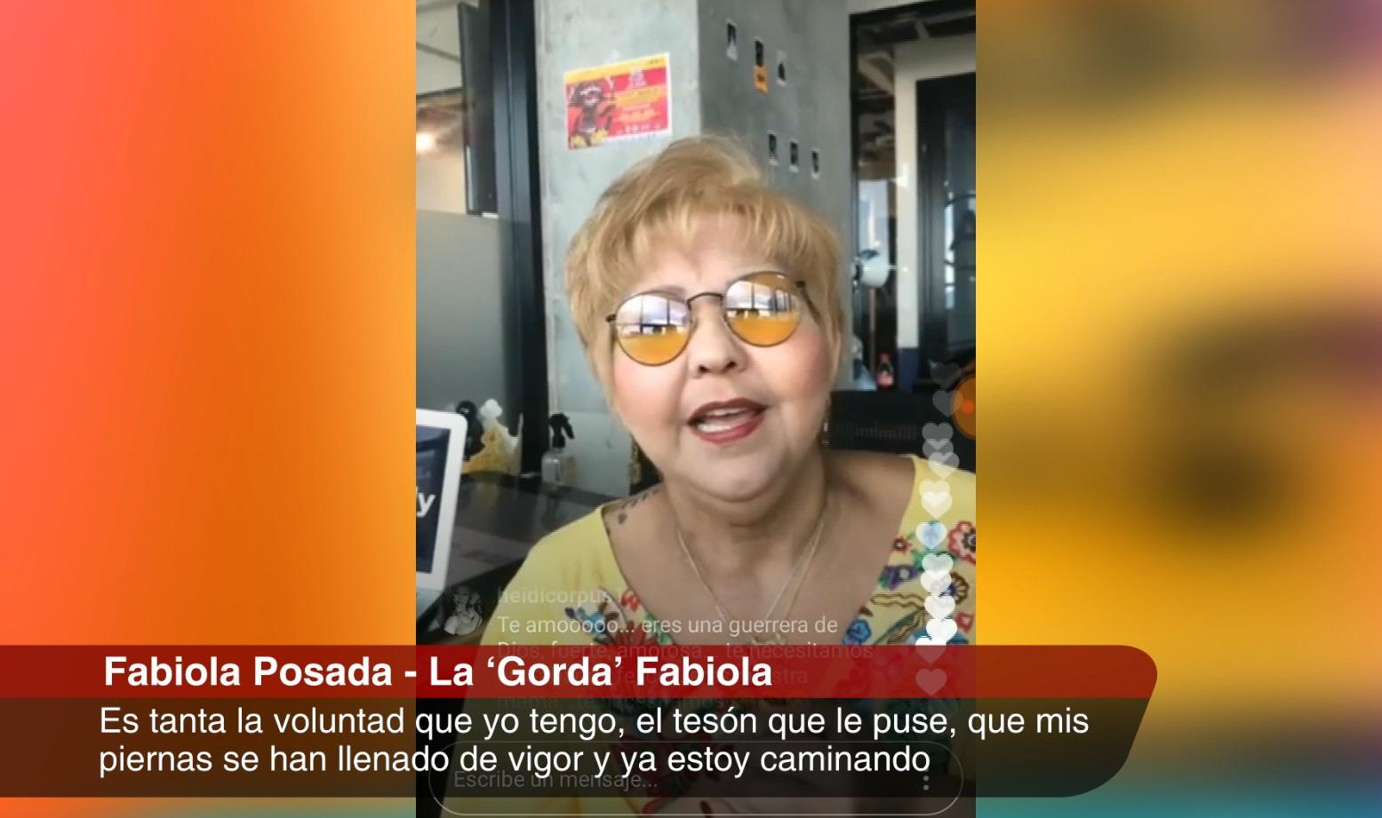 «La Gorda» Fabiola regresará a los escenarios