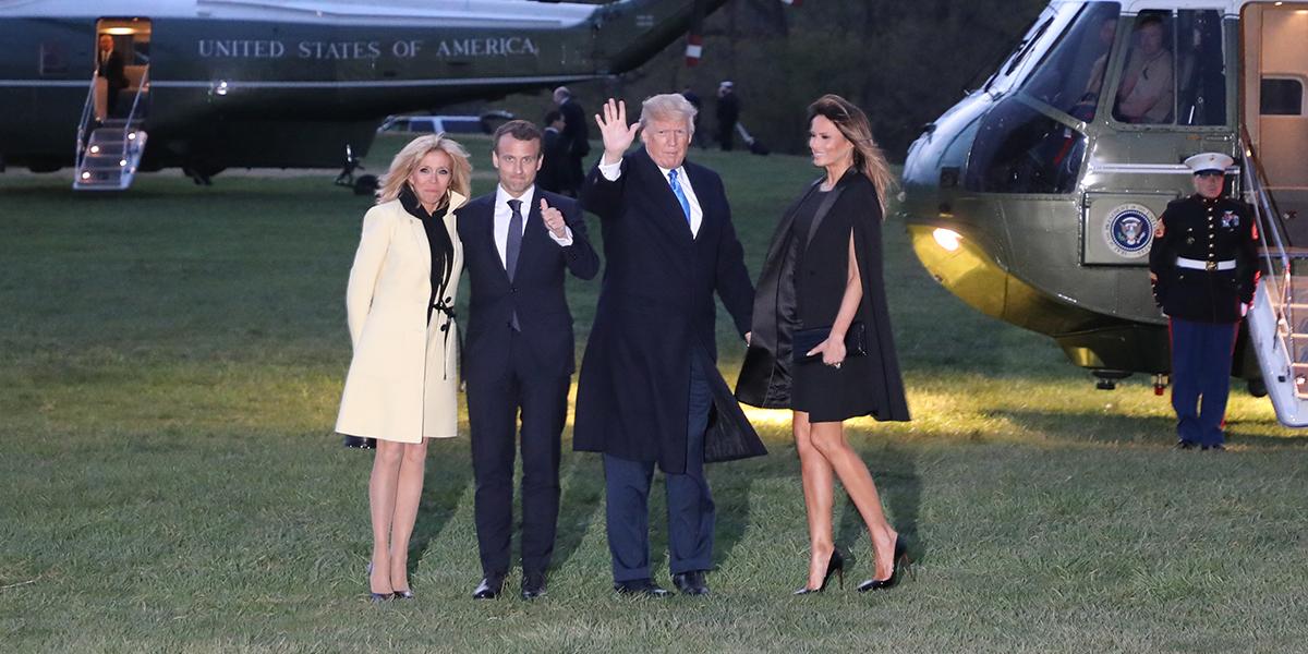 Macron visita a Trump para 'probar su amistad'