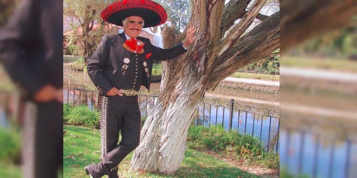 El regaño de Vicente Fernández por el uso de su imagen en Colombia