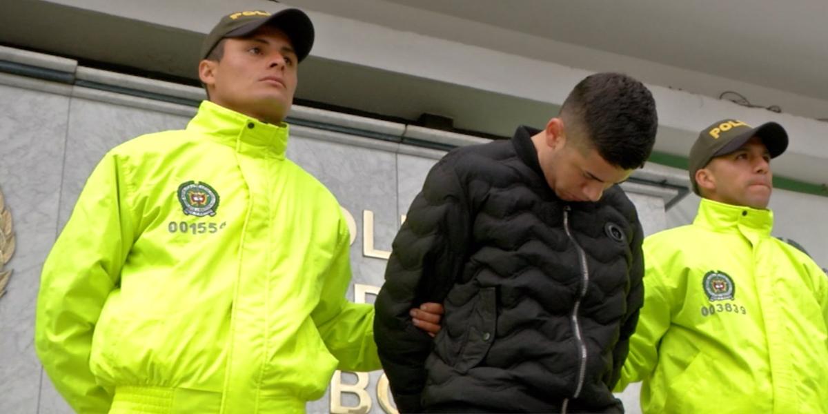 Capturan a alias 'Frozen', quien intimidaba a sus víctimas en centros comerciales de Bogotá