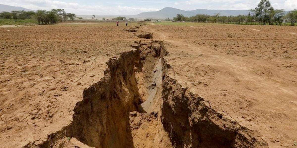 Una grieta gigante está partiendo a África en dos