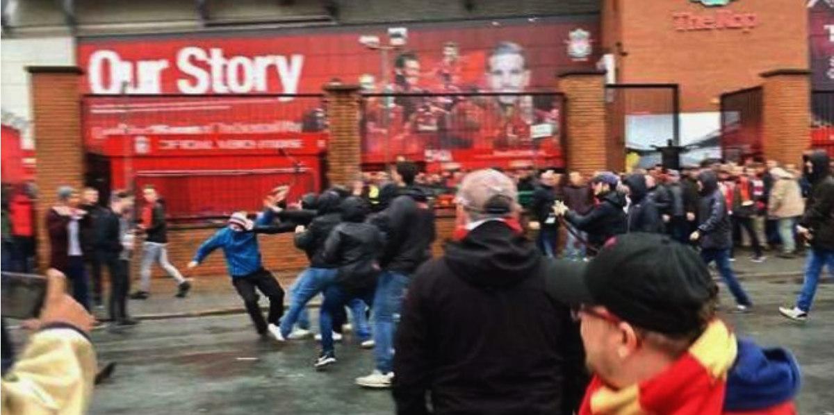 Hincha del Liverpool agredido por ultras de la Roma está en «estado crítico»