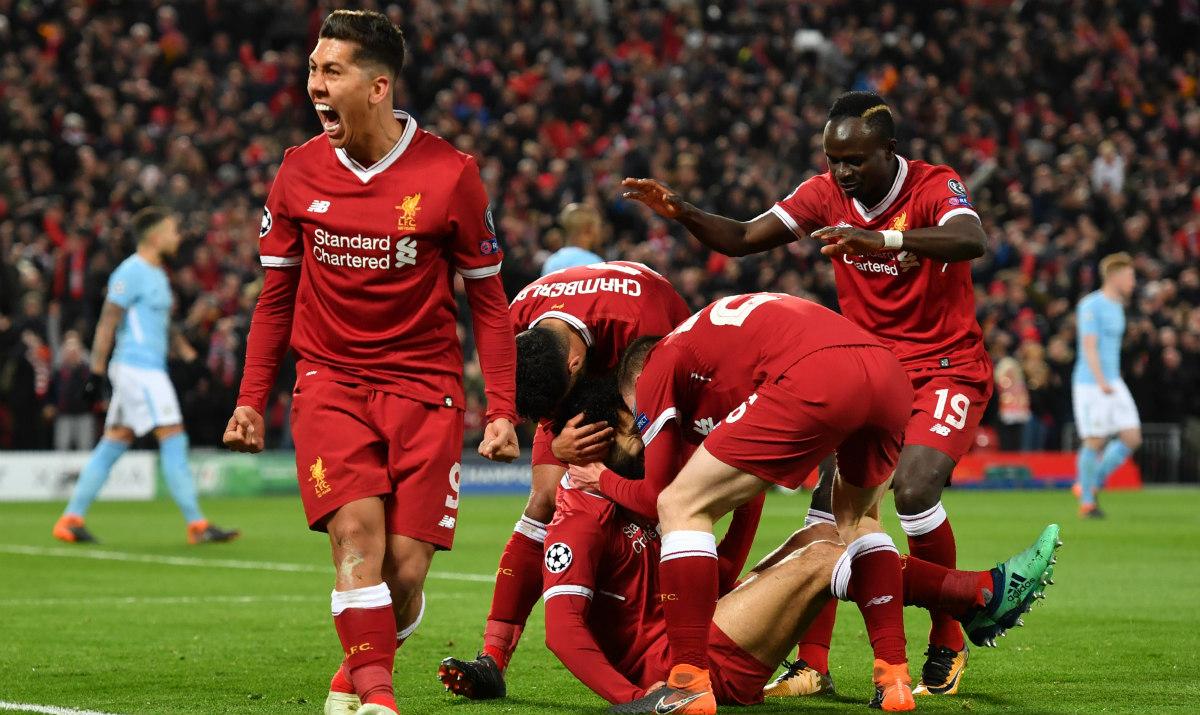 Con estos tres golazos, Liverpool derrota al Manchester City en Champions League