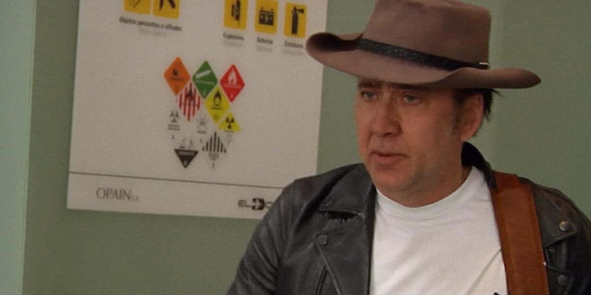Así fue la despedida de Nicolas Cage de Colombia