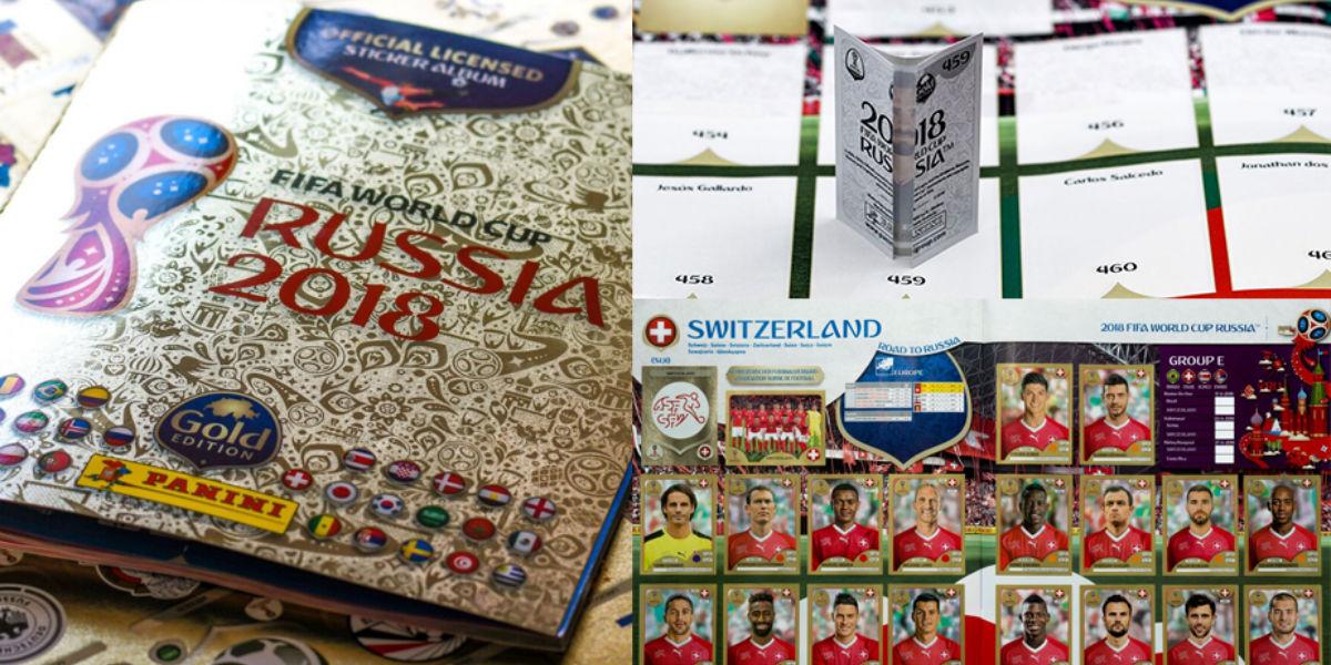 panini gold mundial de rusia 2018 - youtube