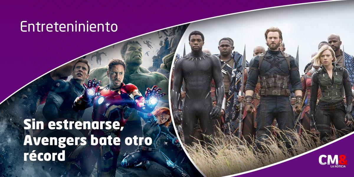 El éxito de la película 'Vengadores, Guerra del Infinito' está anticipado
