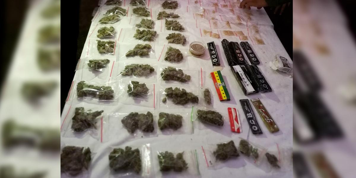 Incautadas 713 dosis de estupefacientes en fiesta ilegal en Santa Marta