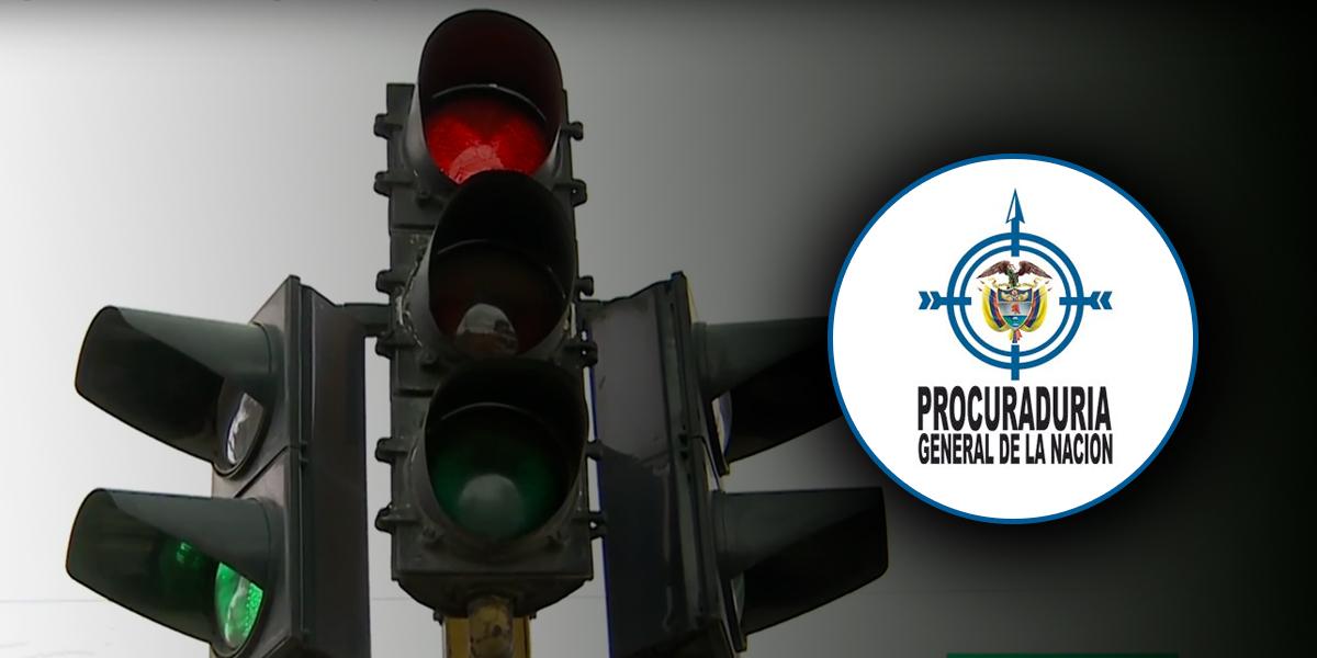 Procuraduría pide suspender contrato de semaforización en Bogotá