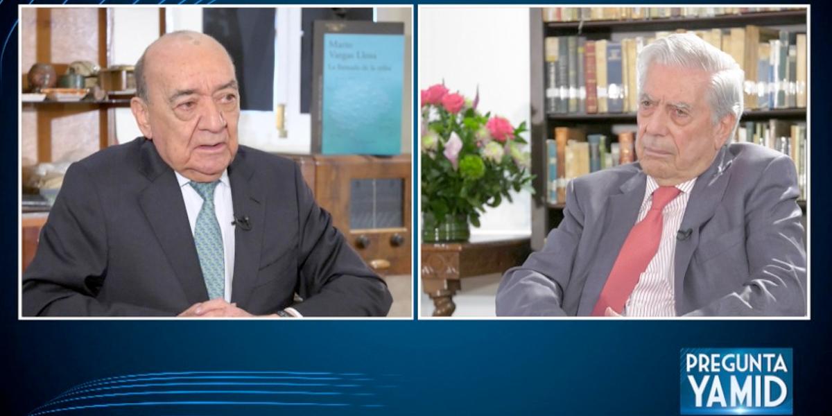 El proceso de paz es una realidad que no tiene vuelta atrás: Mario Vargas Llosa