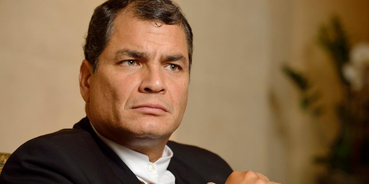 Ordenan prisión preventiva contra el expresidente de Ecuador, Rafael Correa