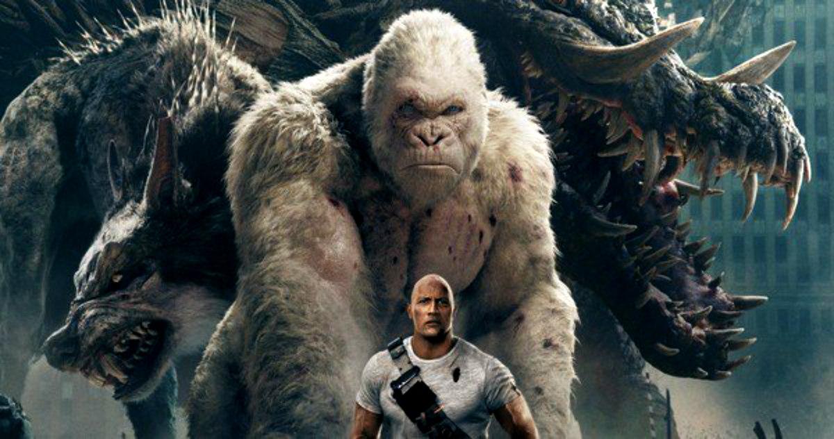 'Rampage', la película de Dwayne Johnson basada en un videojuego