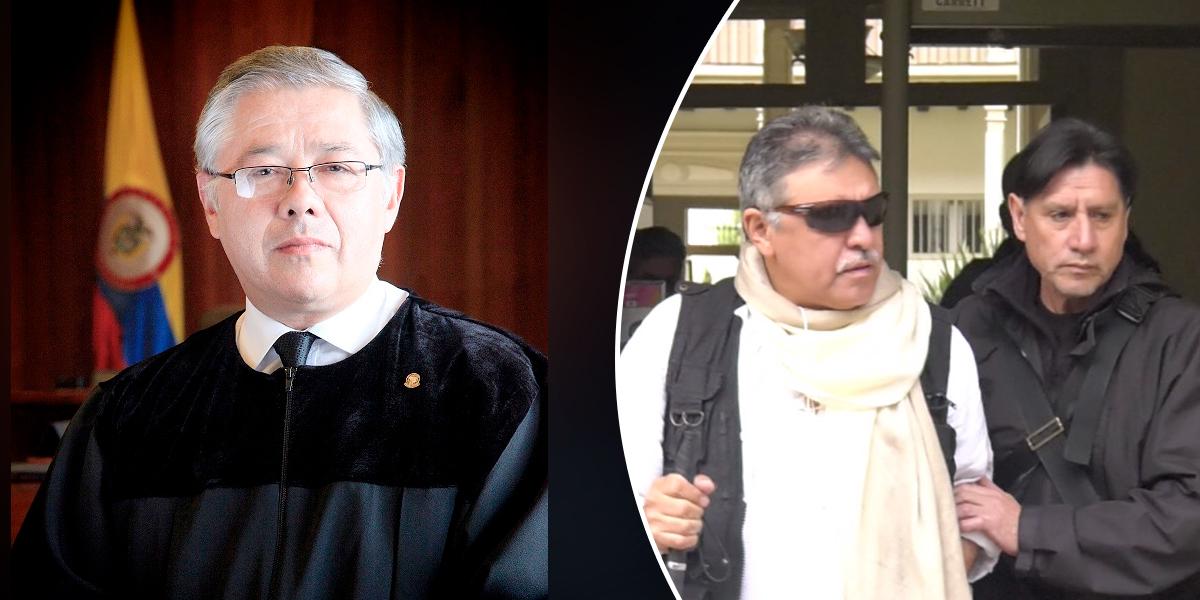 'JEP tiene competencia para decidir sobre la situación de Santrich': Corte Suprema