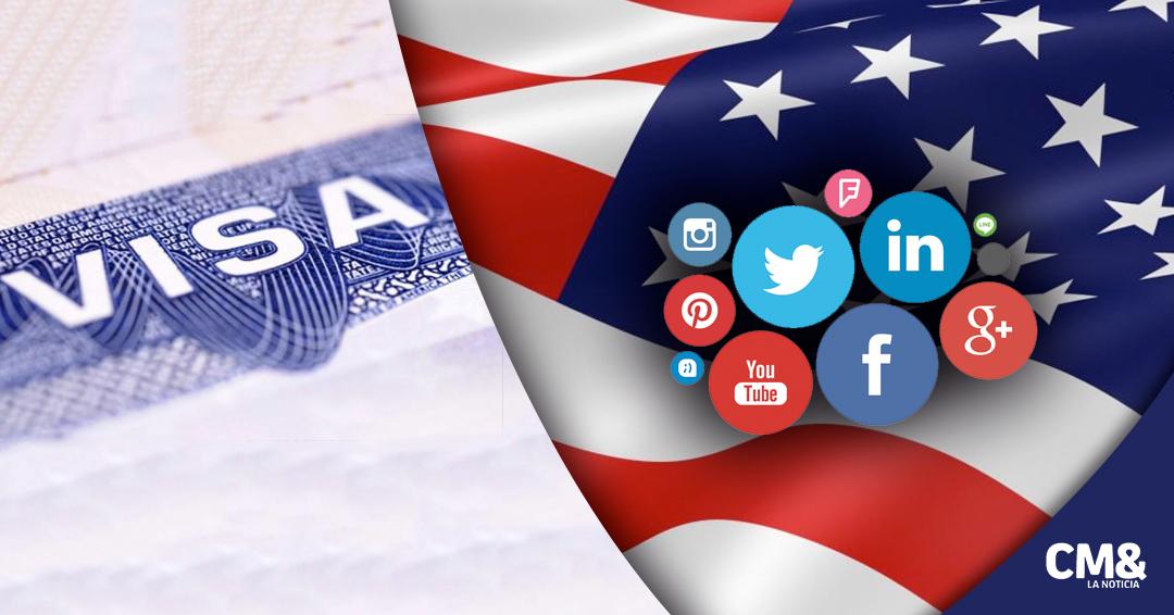 EUA exigiría historial de redes sociales en solicitud de visas