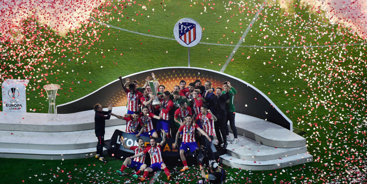 Atlético de Madrid acaba con el Marsella en la final de la Europa League