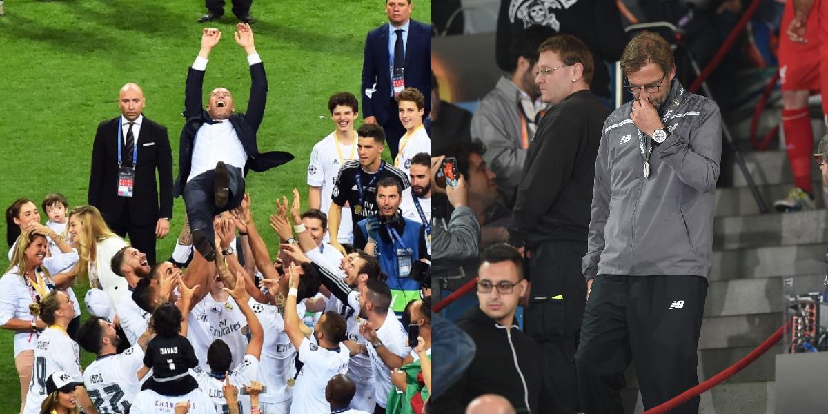 Zidane Vs Kloop, dos DT con suertes distintas en finales