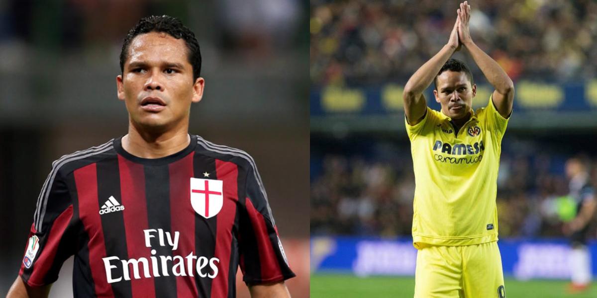 Carlos Bacca saldría del Villareal, pero no volverá a Milan