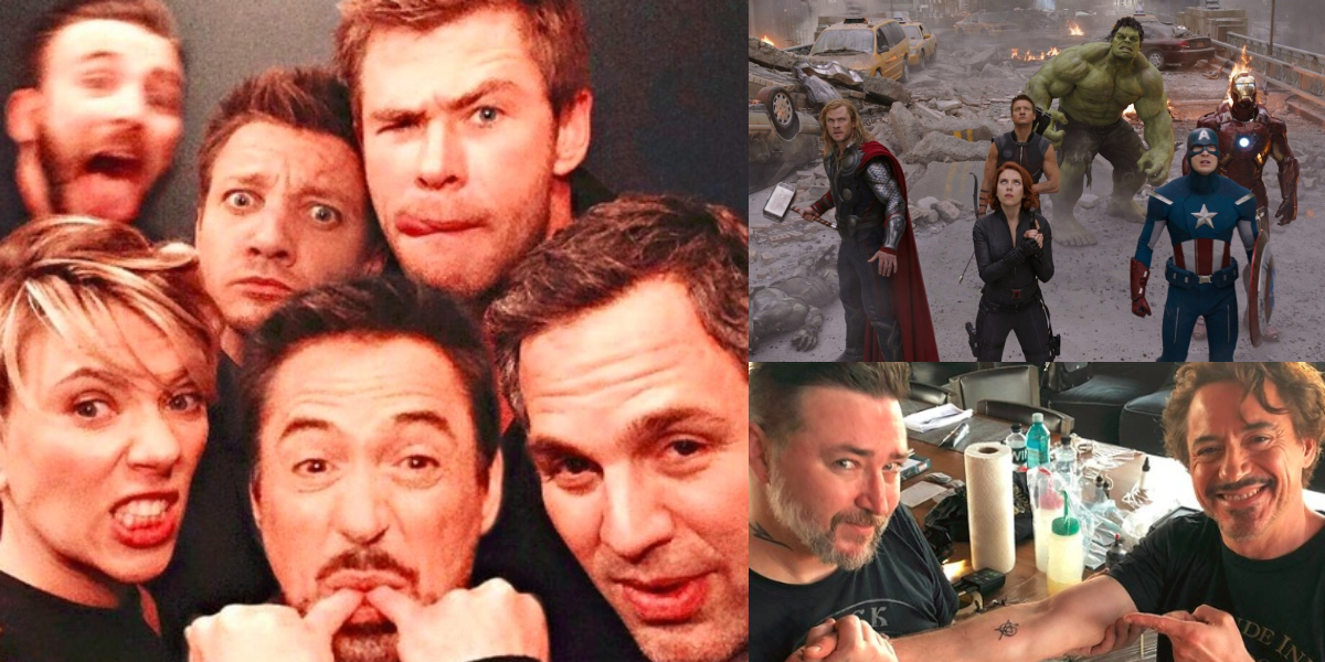 El secreto que hay detrás del tatuaje de los 'Avengers'