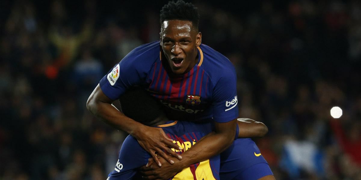 El gran cierre de Yerry Mina que originó un golazo del Barcelona