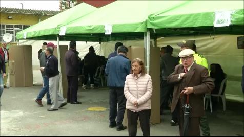 Votación exterior