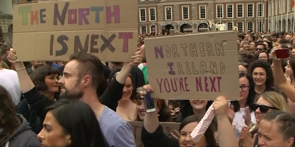 Irlanda anuncia aprobación de Ley del Aborto