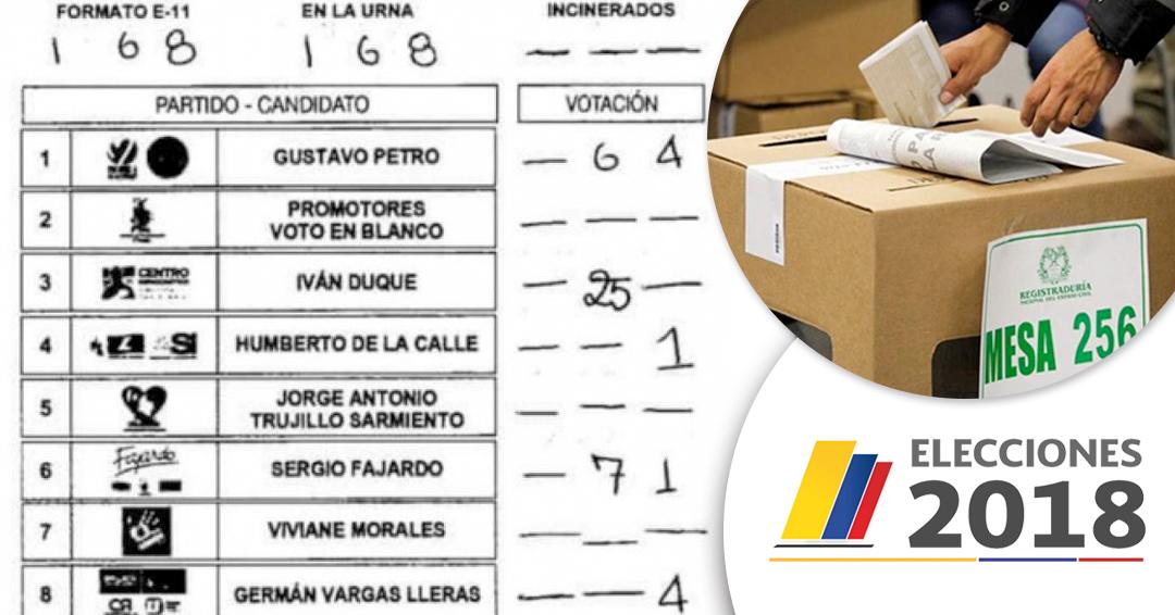 """Hierven las denuncias de fraude electoral y critican el """"obsoleto"""" sistema colombiano"""