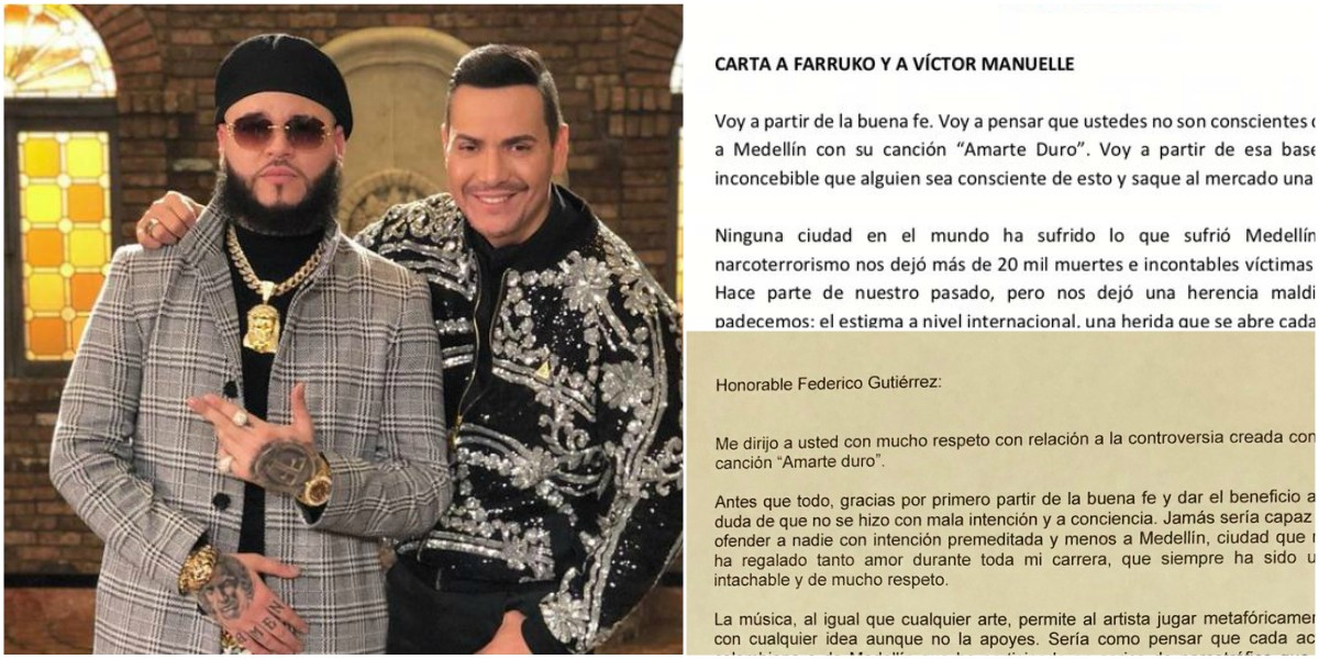 «Puro como la coca de Medallo», la polémica canción de Farruko y Victor Manuelle