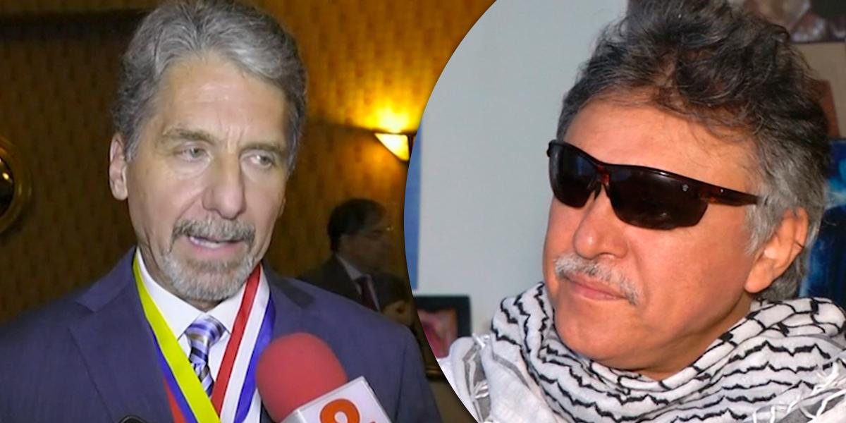 Santrich delinquió después del acuerdo de paz: embajador de EUA en Colombia