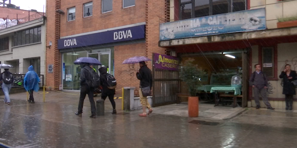 Ideam lanza alerta roja en algunas zonas del país por lluvias durante el puente festivo