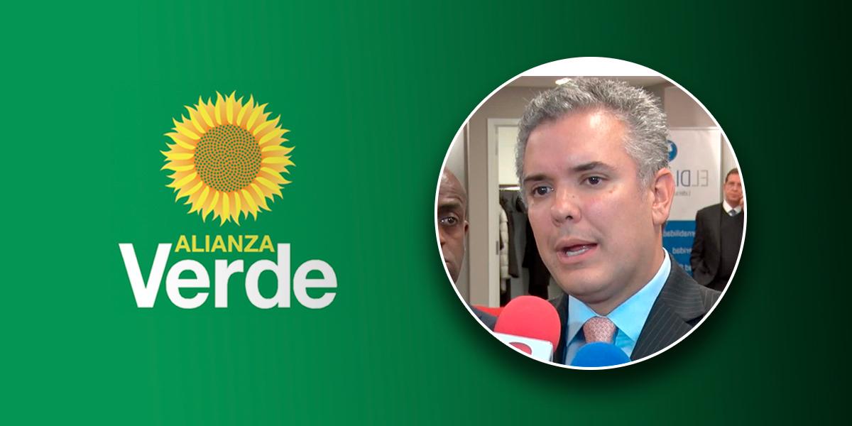 'No aceptamos la opción de votar por la candidatura de Iván Duque': Partido Verde