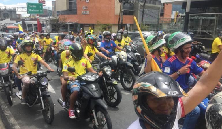 Caravana de motociclistas