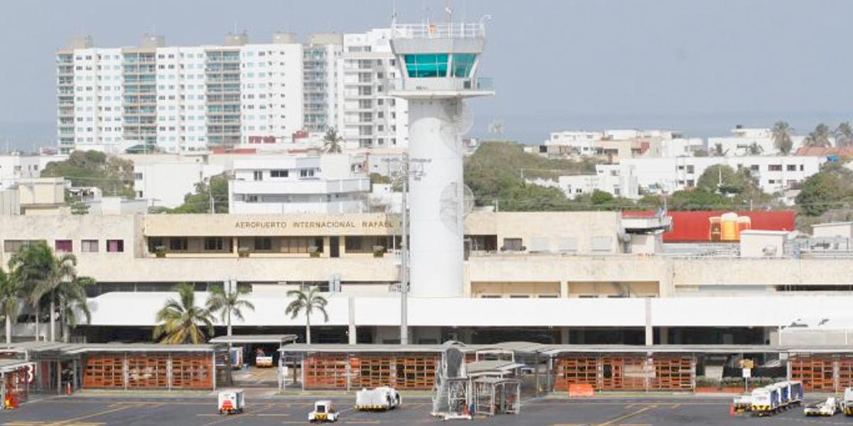Vuelos cancelados y retrasos en el aeropuerto Rafael Núñez