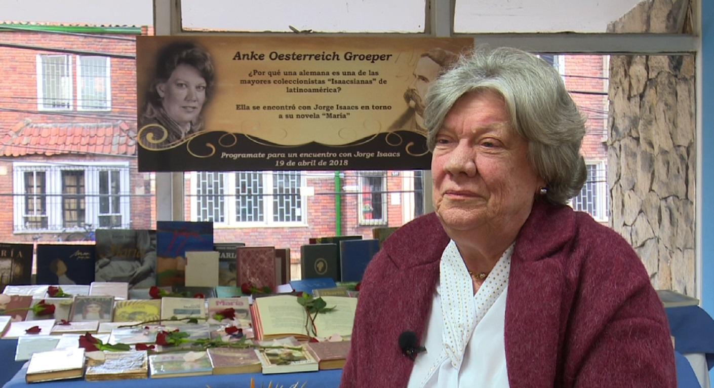 Una alemana es la mayor coleccionista de los libros 'María' de Jorge Isaacs
