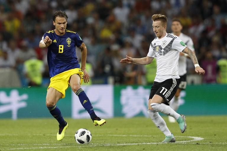 En el último momento Alemania consigue la victoria ante Suecia