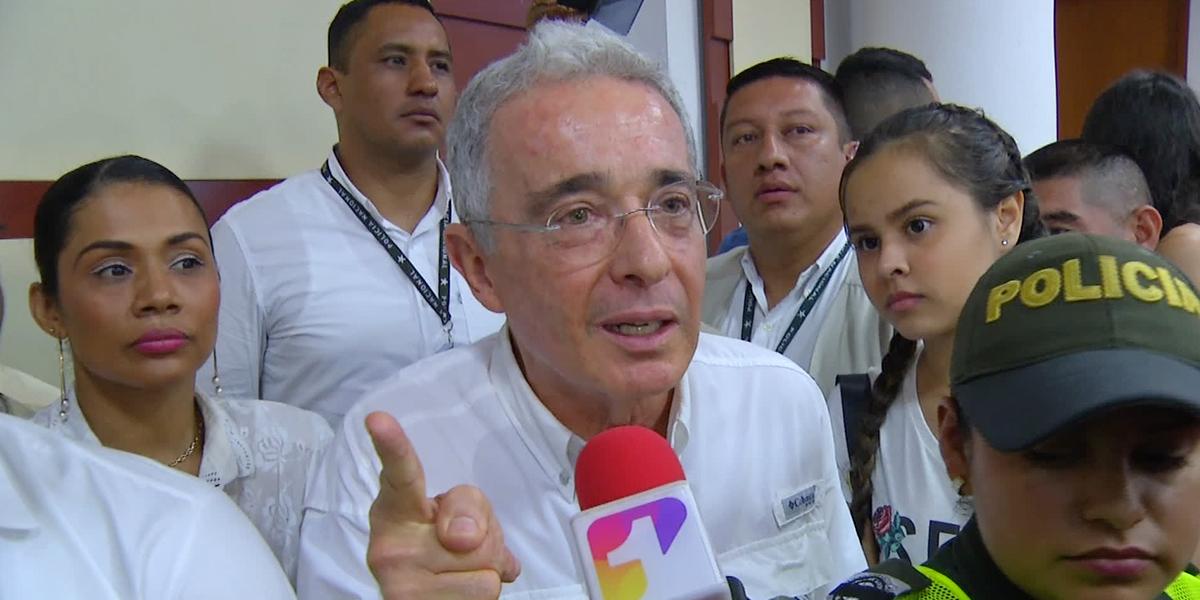 Uribe se pronuncia por decisión frente a masacres de San Roque, La Granja y El Aro