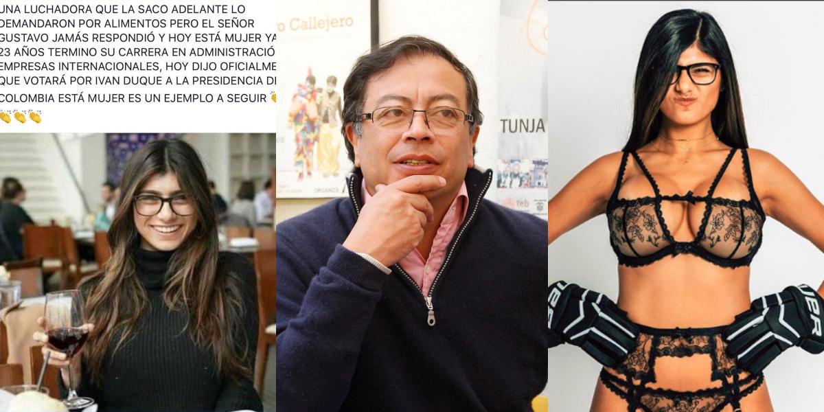 La exestrella porno que presentaron como hija de Gustavo Petro