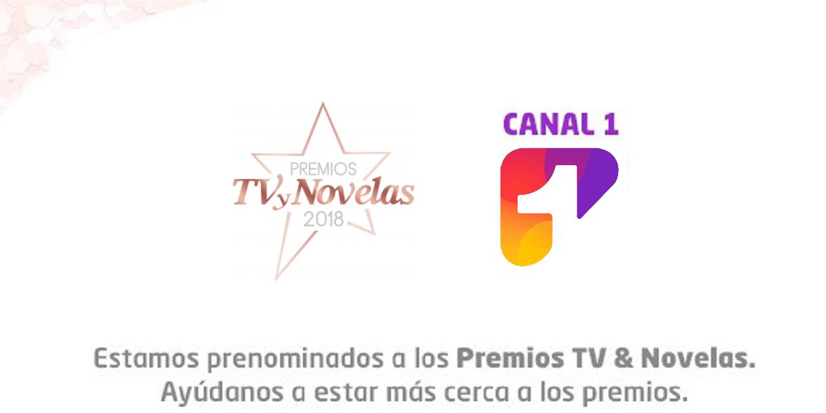 ¡Ya puedes votar por tus talentos favoritos de Canal 1 en los Premios TVyNovelas 2018!