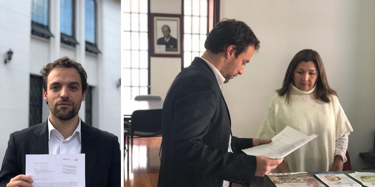 Exviceministro Luis Ernesto Gómez renuncia al Partido Liberal