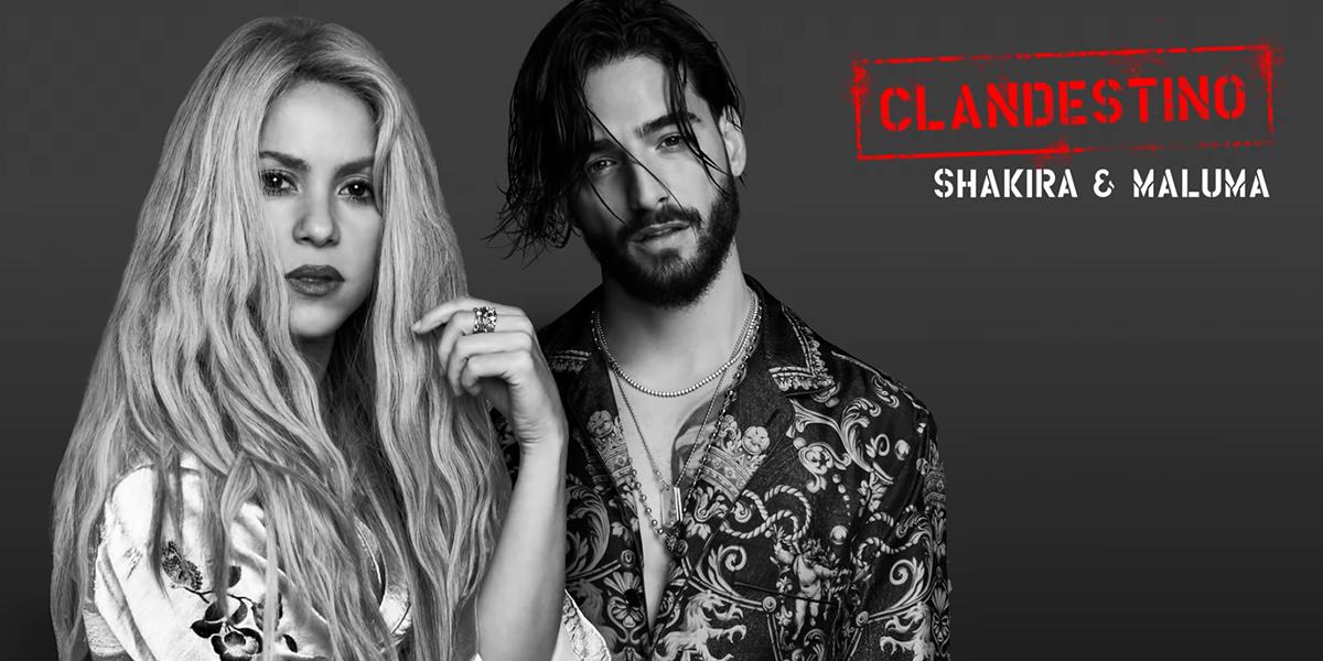 Así suena 'Clandestino', lo nuevo de Shakira y Maluma