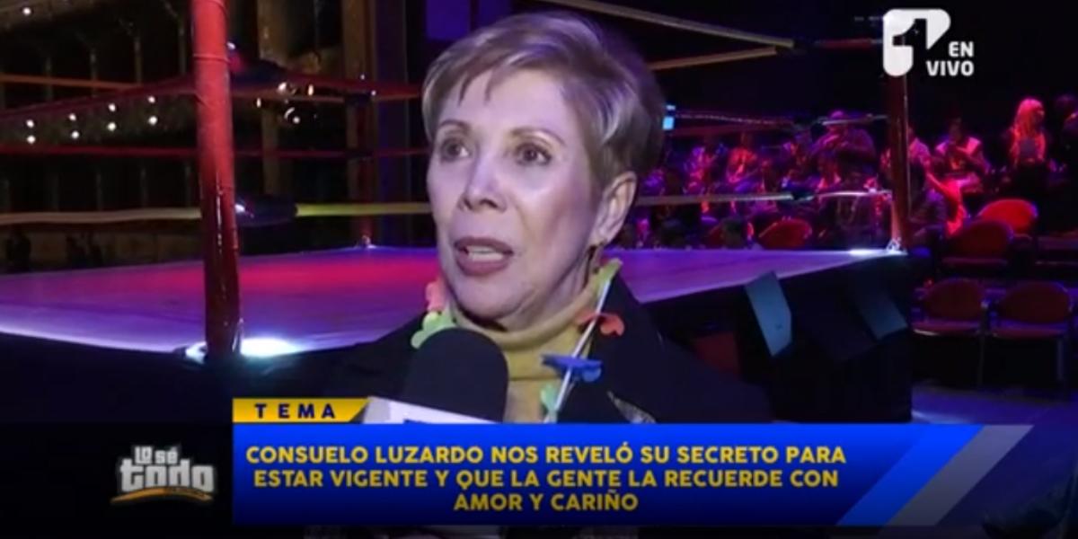 Consuelo Luzardo habló de sus «vacaciones» forzadas de la televisión