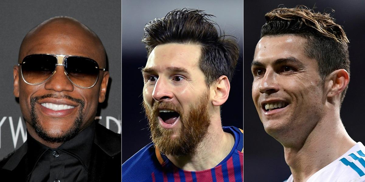 Los deportistas que más ganan dinero en el mundo en 2017 y 2018, según Forbes