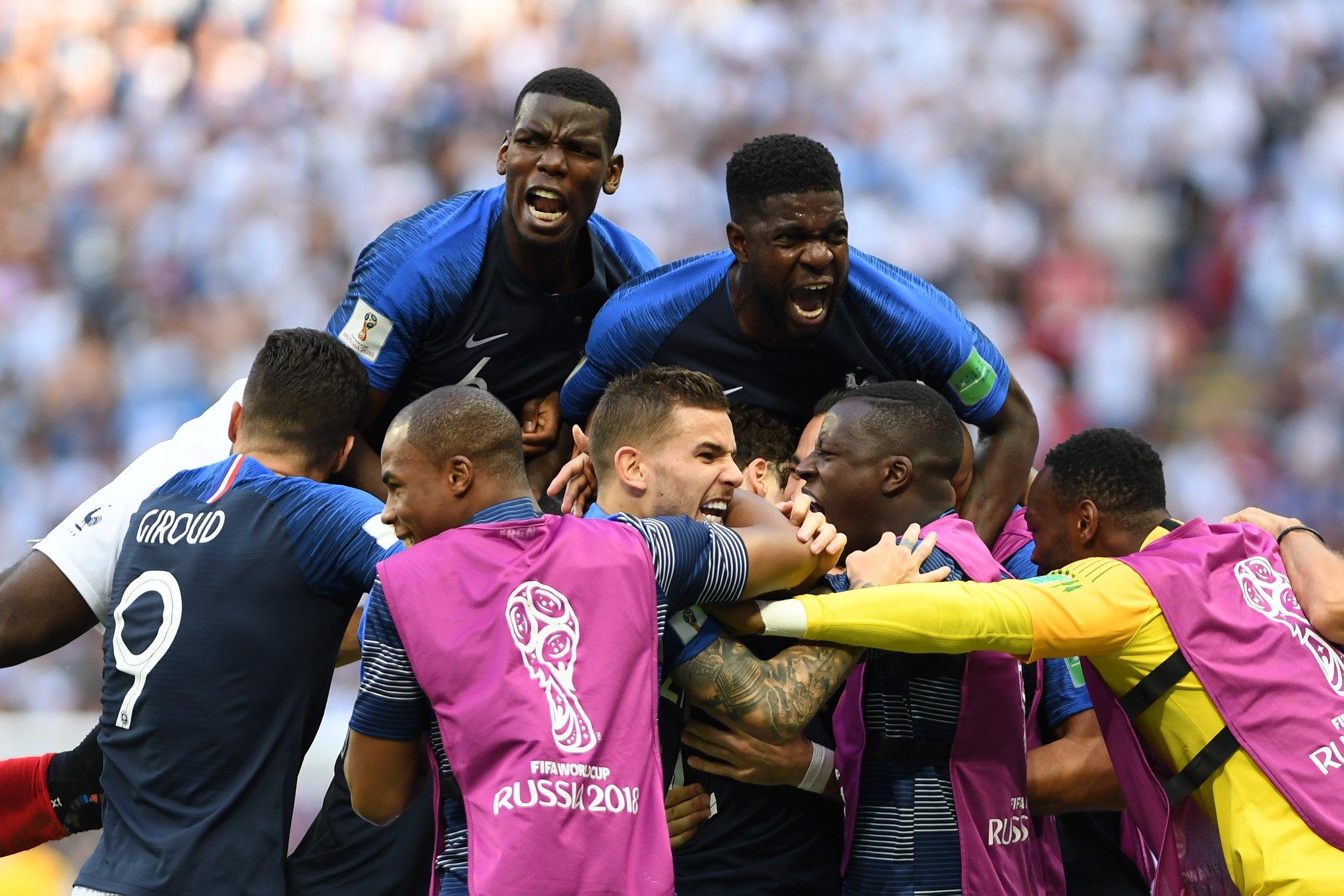 Francia elimina a Argentina y es candidata a ganar el Mundial