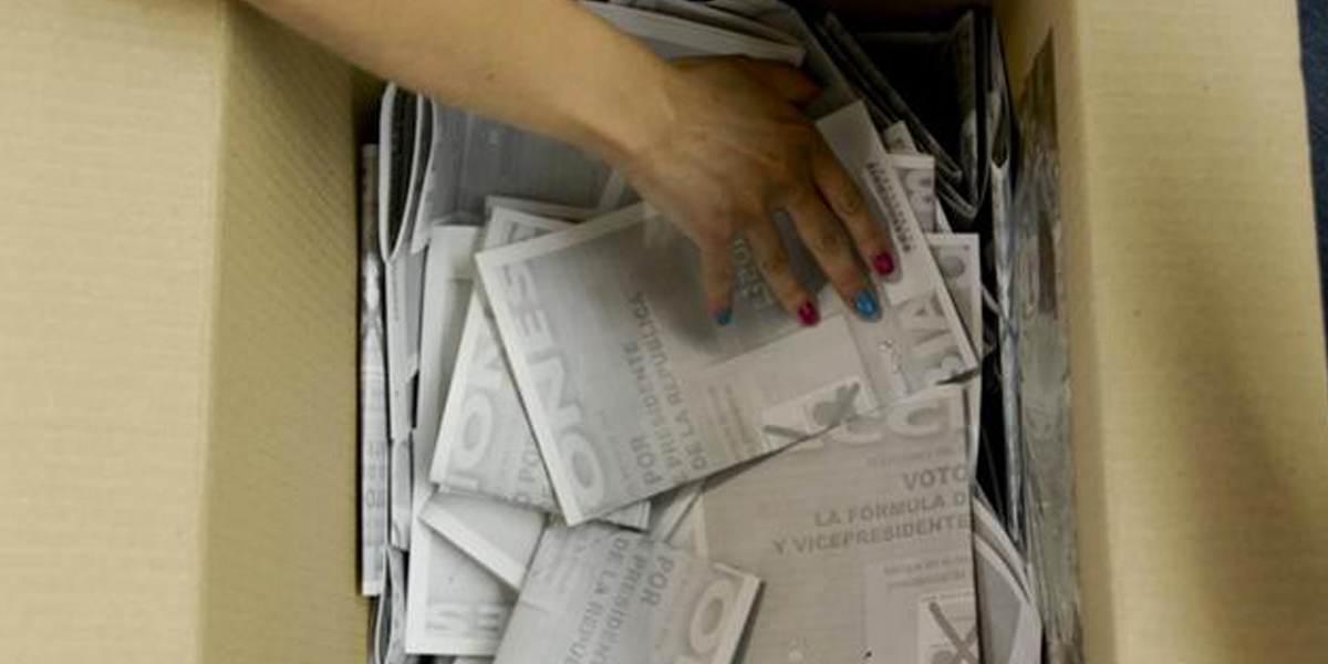Ocho capturas se reportaron en jornada electoral de segunda vuelta presidencial