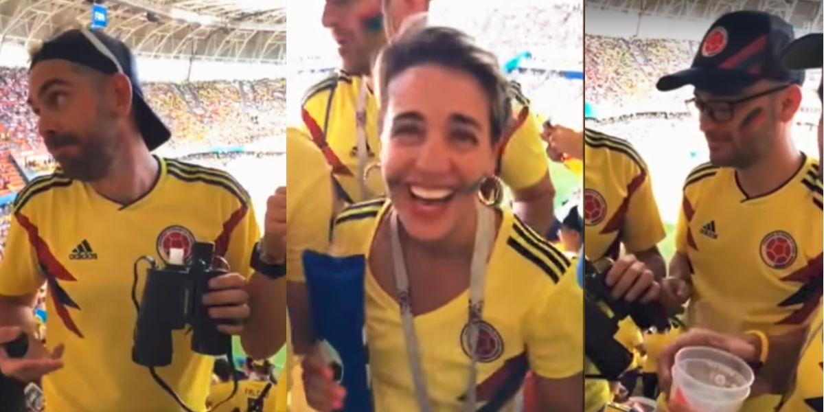 Respuesta del empleado despedido de Avianca por ingresar licor a un partido del Mundial