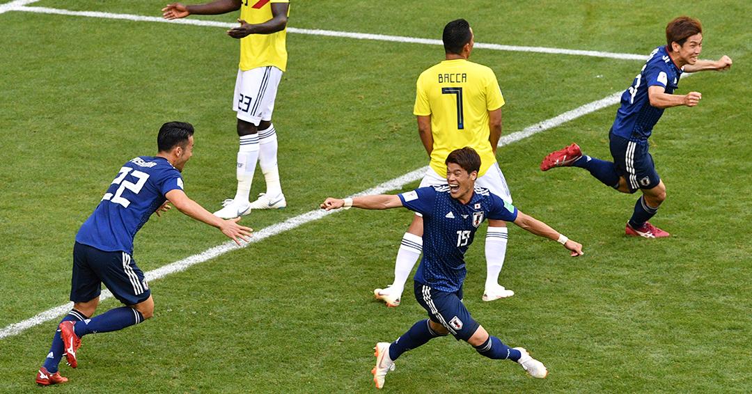 Amargo debut: Colombia pierde 1 – 2 contra Japón en el Mordovia Arena